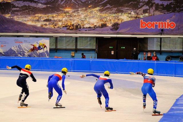 Mondiali junior short track a Bormio