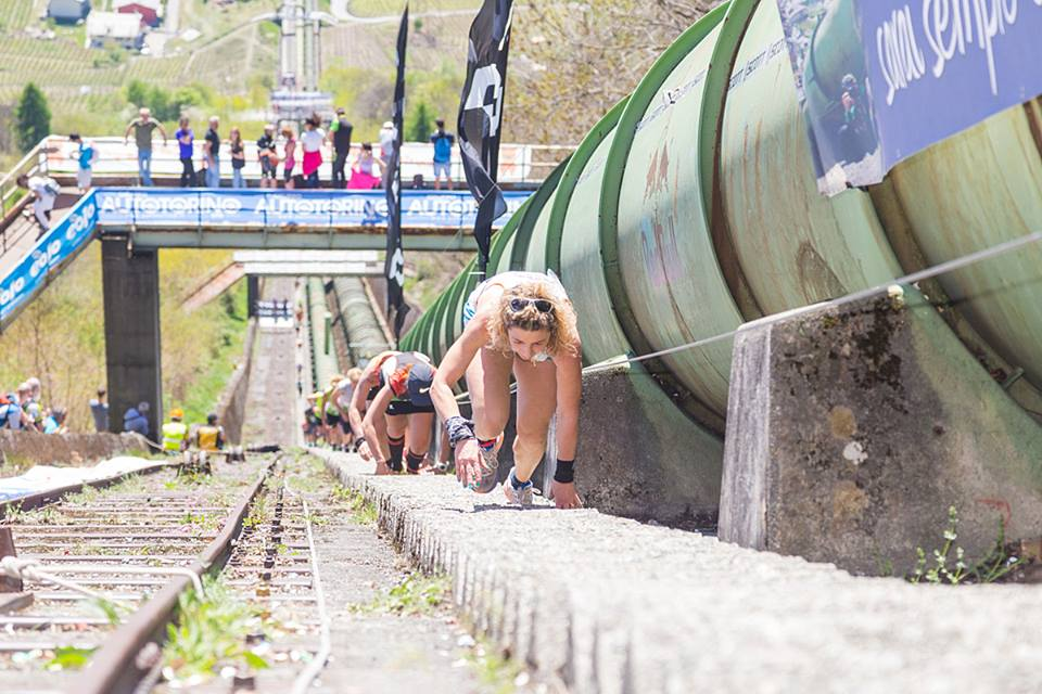 valtellina vertical tube race