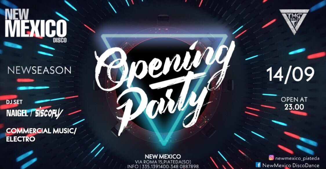 New Mexico - Opening Party